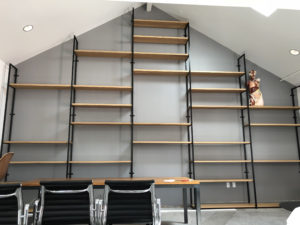 Custom office shelves final