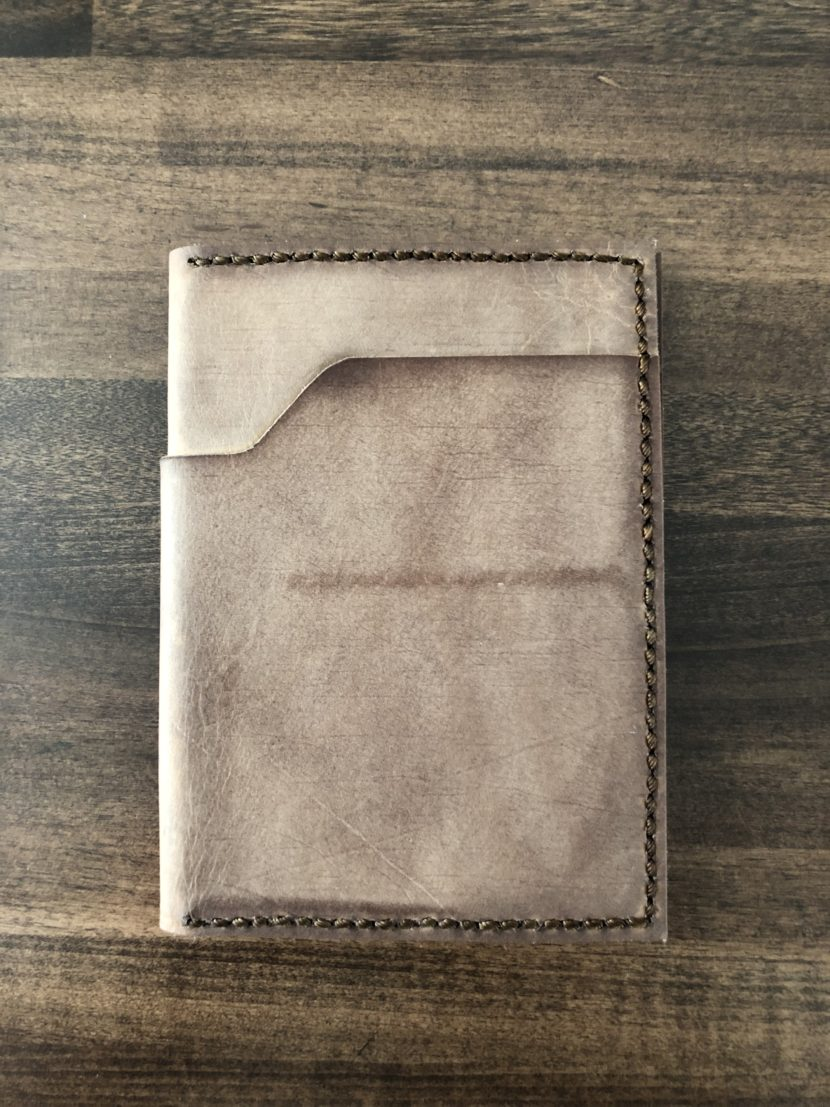 Leather wallet exterior 2