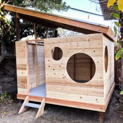 Children's modern playhouse
